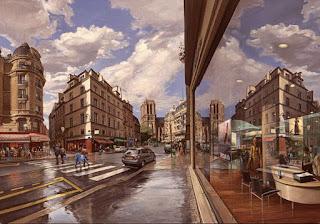 ciudad-donde-siempre-brilla-el-sol-pinturas-hiperrealistas ciudades-pinturas-oleo