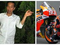 Apa Jokowi Tahu? Marc Marquez Ingin Bikin Sirkuit MotoGP di Indonesia