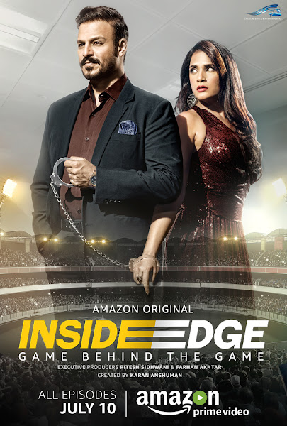 Poster of Inside Edge Season 1 Complete 720p Hindi HDRip ESubs Download