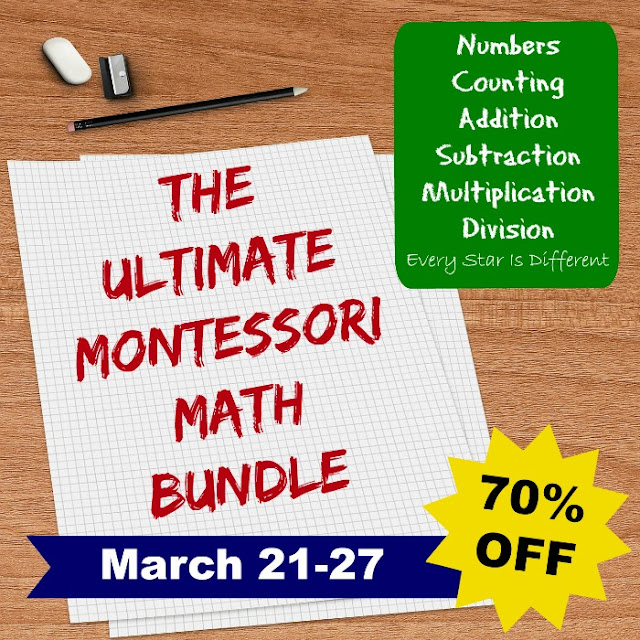The Ultimate Montessori Math Bundle