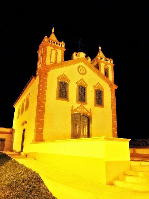 A igreja do Ribeirão da Ilha, em Florianópolis, conserva os traços originais
