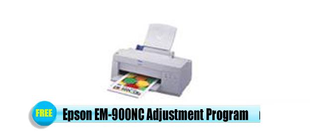 Epson  EM-900NC Adjustment Program