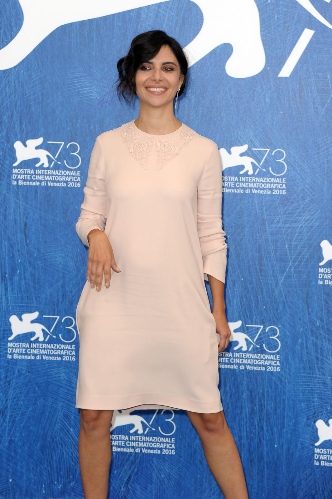 HQ Photos of Claudia Potenza At Monte Photocall At 73rd Venice Film Festival