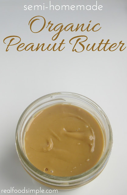 semi-homemade organic peanut butter | suzyandco.com