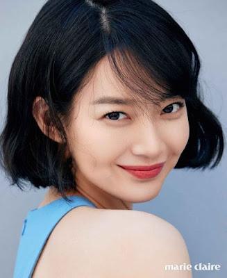 Shin Min Ah Marie Claire June 2017
