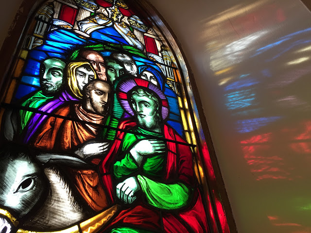 Stained glass window, St. James Anglican Church, Carleton Place