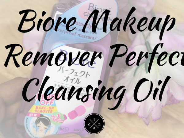 Biore Makeup Remover Perfect Cleansing Oil Review