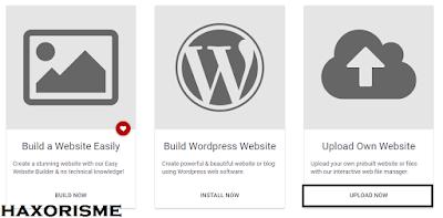 Upload Own Website