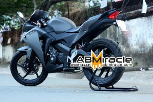 modifikasi cbr 150 warna hitam8  terbaru