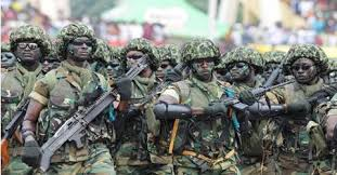 Nigerian Soldiers Invade Community, Mark Houses For Demolition in Ibadan