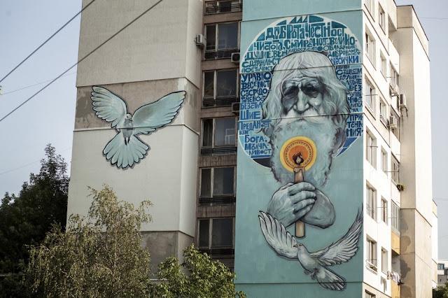 El graffiti de Diado Dobri, por Nasimo