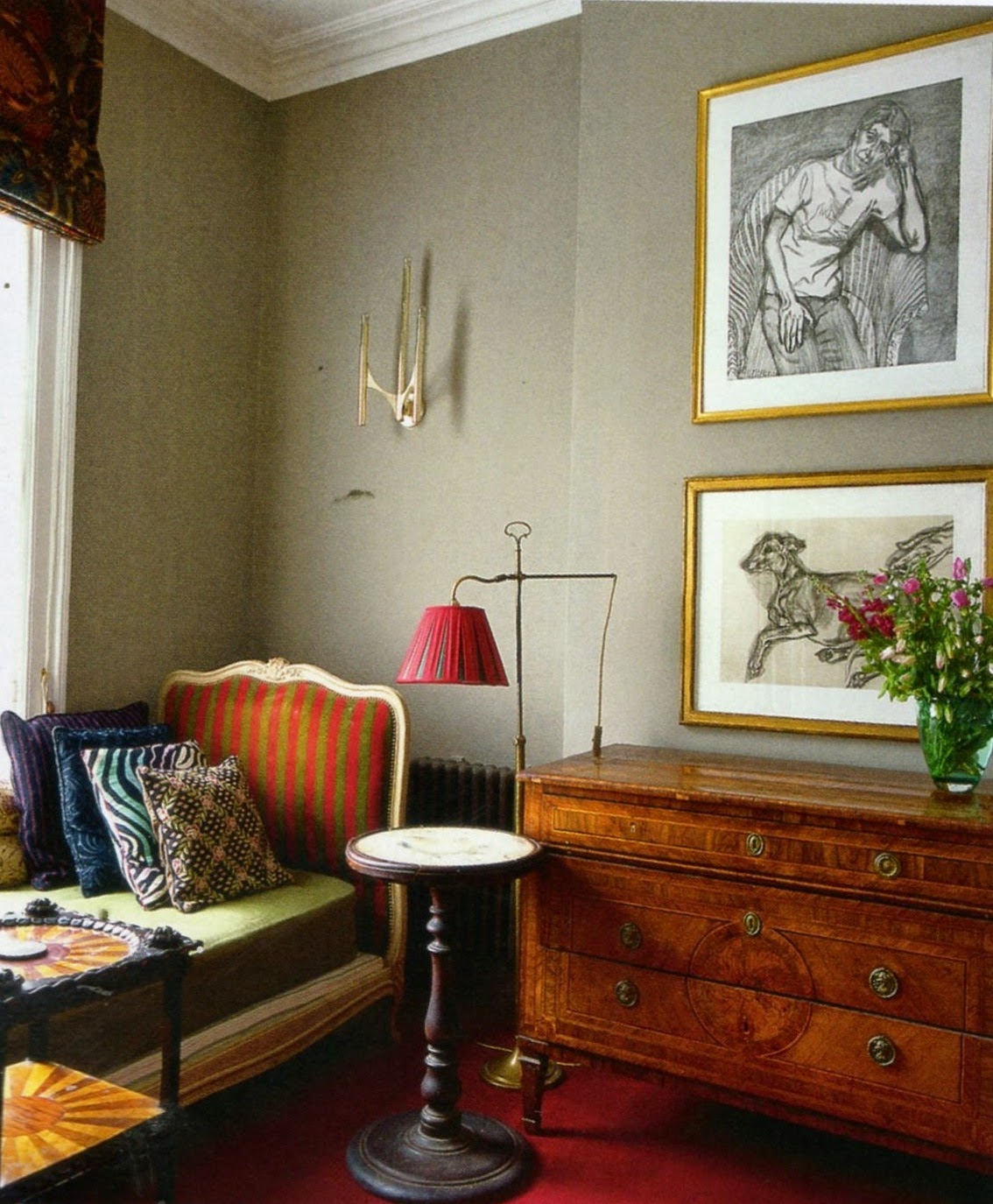 Bella Freud S London Home Designed With Retrovious