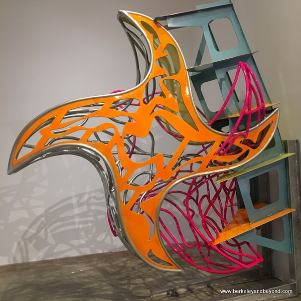 """Hercules and Achelous"" by Frank Stella, at NSU Art Museum in Fort Lauderdale, Florida"