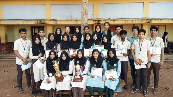 Kerala, News, Kasaragod, CJHSS Chemnad, Victory, Social Science Fair, Science Fair, IT Fair, Work Experience Fair, Champions, Runners Up