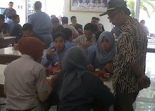 Suli Daim Wakil Ketua Komisi E saat melakukan sidak