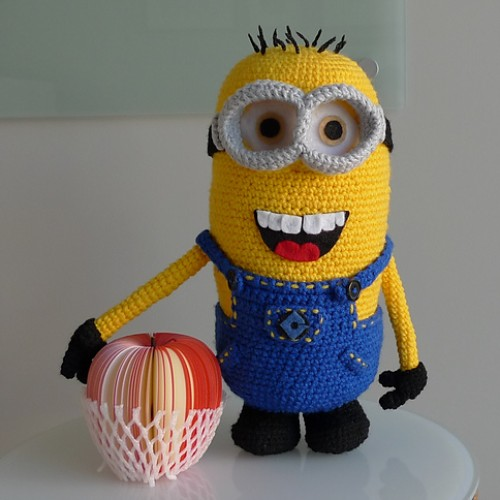Despicable Me Minion - Free Pattern