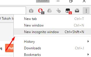 incognito windows