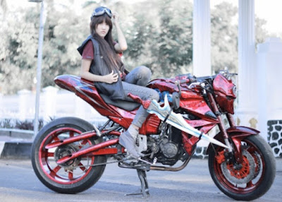 Foto Modifikasi Motor Byson Street Fighter