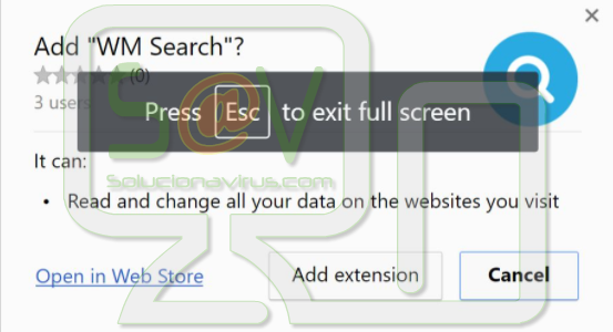 WM Search (Extensión)