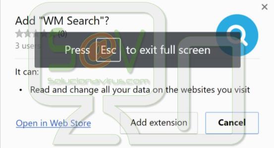 WM Search (Extensión)