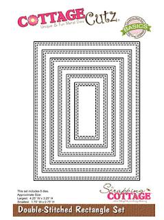 Double-Stitched Rectangle Set