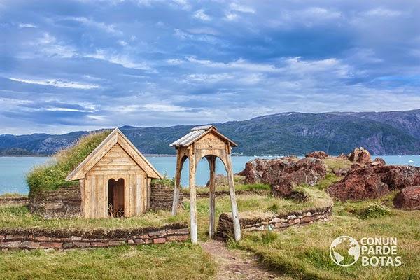 Primera iglesia del Nuevo Mundo, Groenlandia