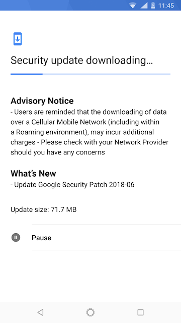 Nokia 8 Sirocco receiving June 2018 Android Security update
