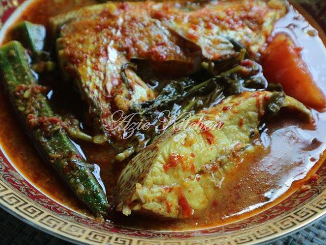 Asam Pedas Ikan Merah
