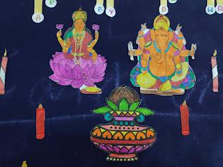 Navratri Dussehra Bulletin Board ideas,Activities & Crafts