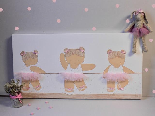 Cuadros infantiles personalizados pintados a mano