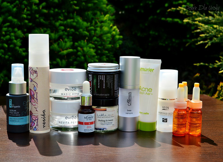 Denko - zużycia kosmetyczne - styczeń, luty,marzec - pielęgnacja twarzy