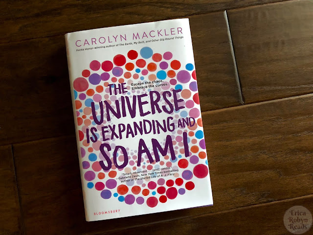 Book Review of The Universe Is Expanding and So Am I by Carolyn Mackler