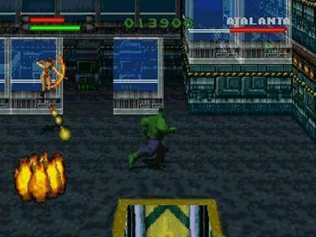 The Incredible Hulk PC Games Gameplay
