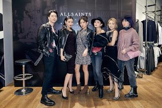 日本靈魂歌姬iri現身AllSaints信義旗艦店  魅力嗓音迷走都會現場
