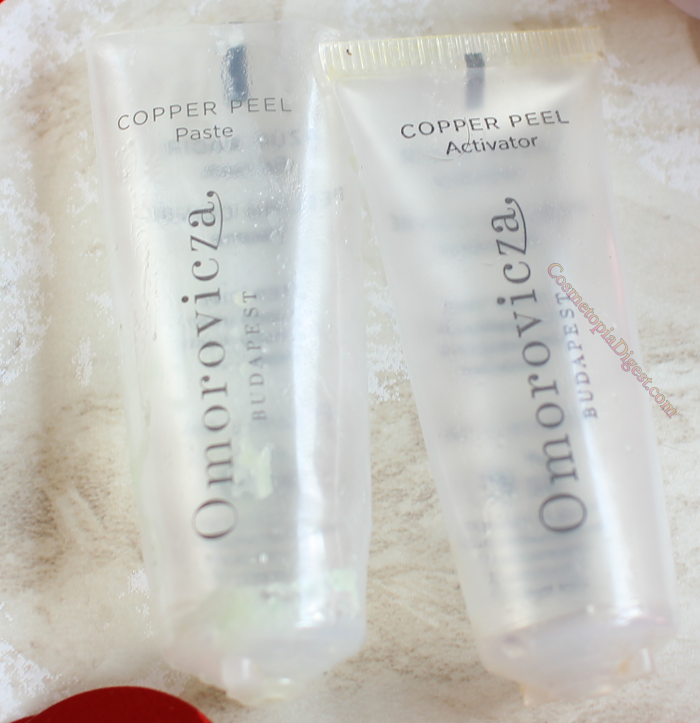 Omorovicza Copper Peel review