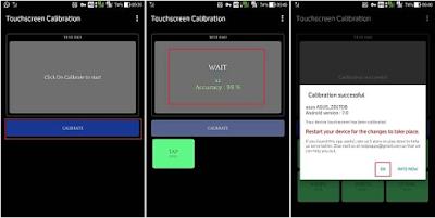 Begini cara Melakukan kalibrasi Touch Screen Ponsel android ketika layar sentuh sering Tidak Merespons