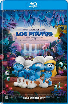 Smurfs The Lost Village 2017 BD25 3D Latino