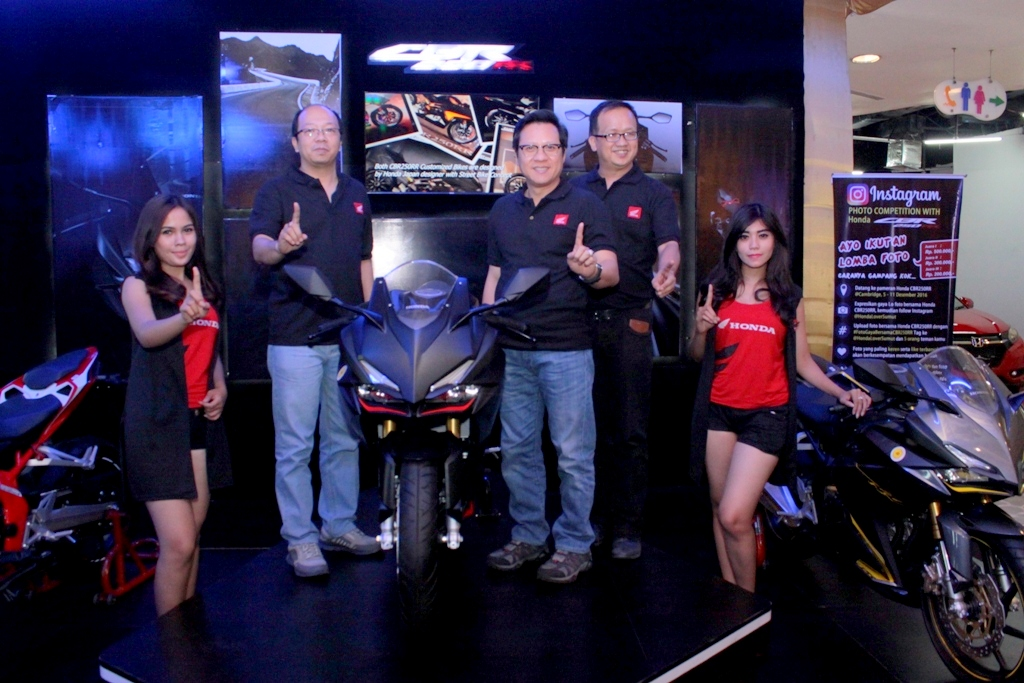All New Honda CBR250RR resmi dilaunching dikota Medan, harga mulai 64 Jutaan !