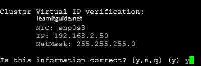 Configure two node VCS Cluster - Screenshot 10