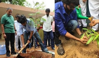 Nani And Naveen Chandra Participate In Haritha Haram Pics