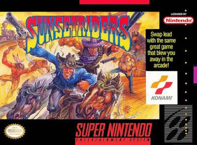 Rom de Sunset Riders - SNES - Em Português - Download