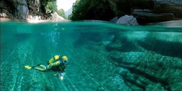 Masya Allah, Inilah Sungai Kristal Paling Jernih Di Dunia Ciptaan Allah Yang Dijaga Sebaiknya.. (8 Gambar)