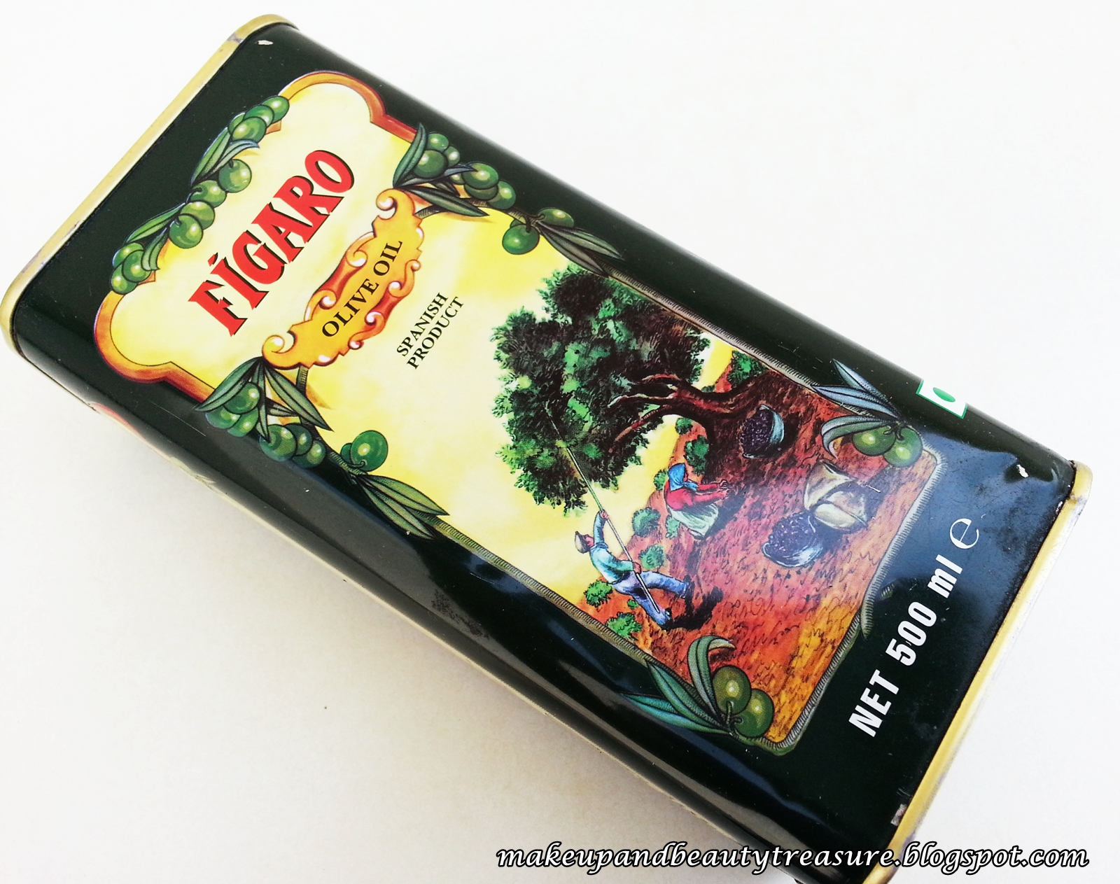 Makeup And Beauty Treasure Figaro Olive Oil Review