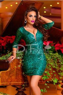 Rochie Green Sparkle