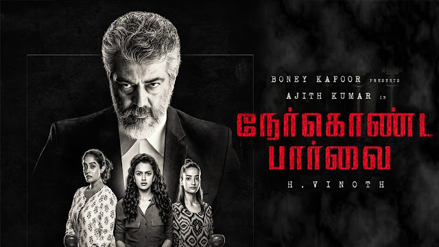 Nerkonda Paarvai Official Poster