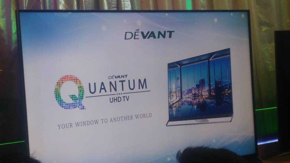 Devant launches its Quantum UHD TV in the most colorful and sweetest