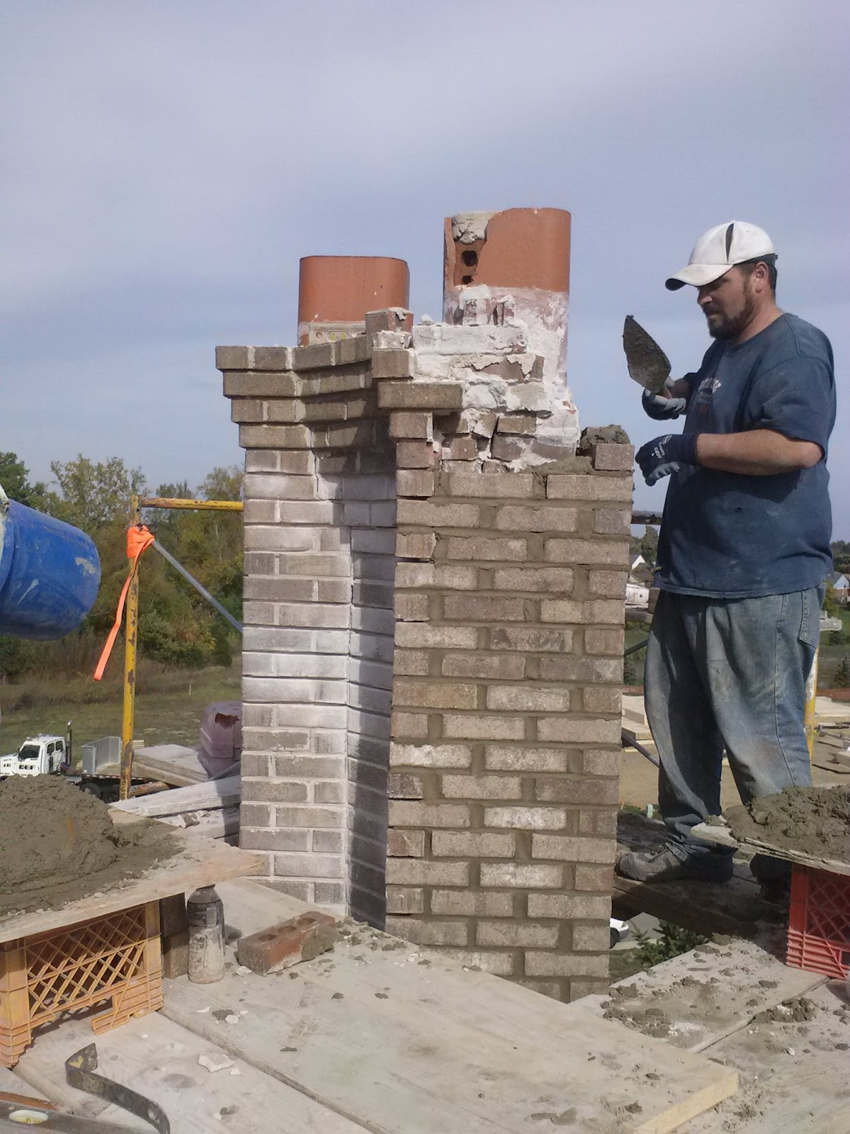 Fireplace Repair Troy Mi West Bloomfield Chimney Repair 248 202 5740
