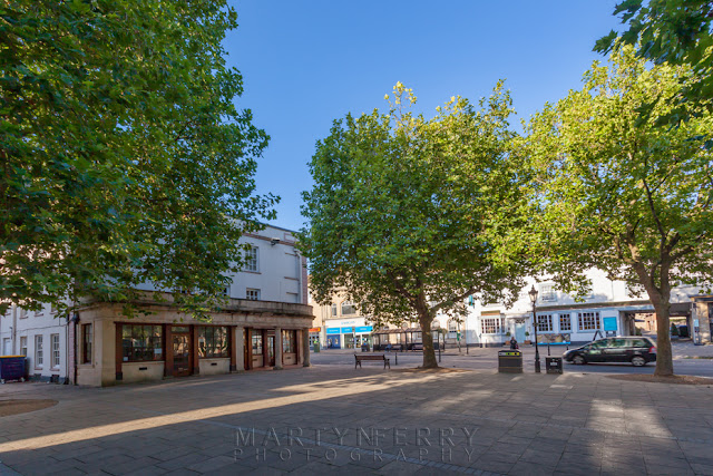 Witney Market square in the Oxfordshire Cotswolds  by Martyn Ferry Photography