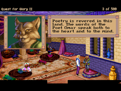 Videojuego Quest for Glory II Trial by Fire