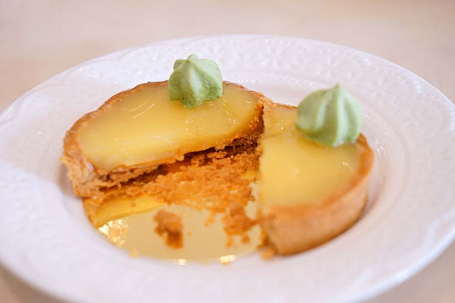 DSC02019 - 熱血採訪│隱藏在台中七期的藍帶甜點,金心盈福Cuore D'oro法義甜點